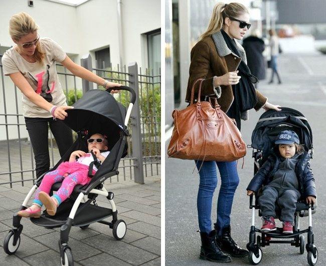 Babyzen Babyzen YOYO² Buggy ab 6 Monaten inklusive Beinstütze - Toffee mit schwarzem Rahmen
