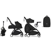 Babyzen Babyzen YOYO² buggy COMPLEET vanaf de geboorte en inclusief YOYO Bag -  zwart met frame zwart