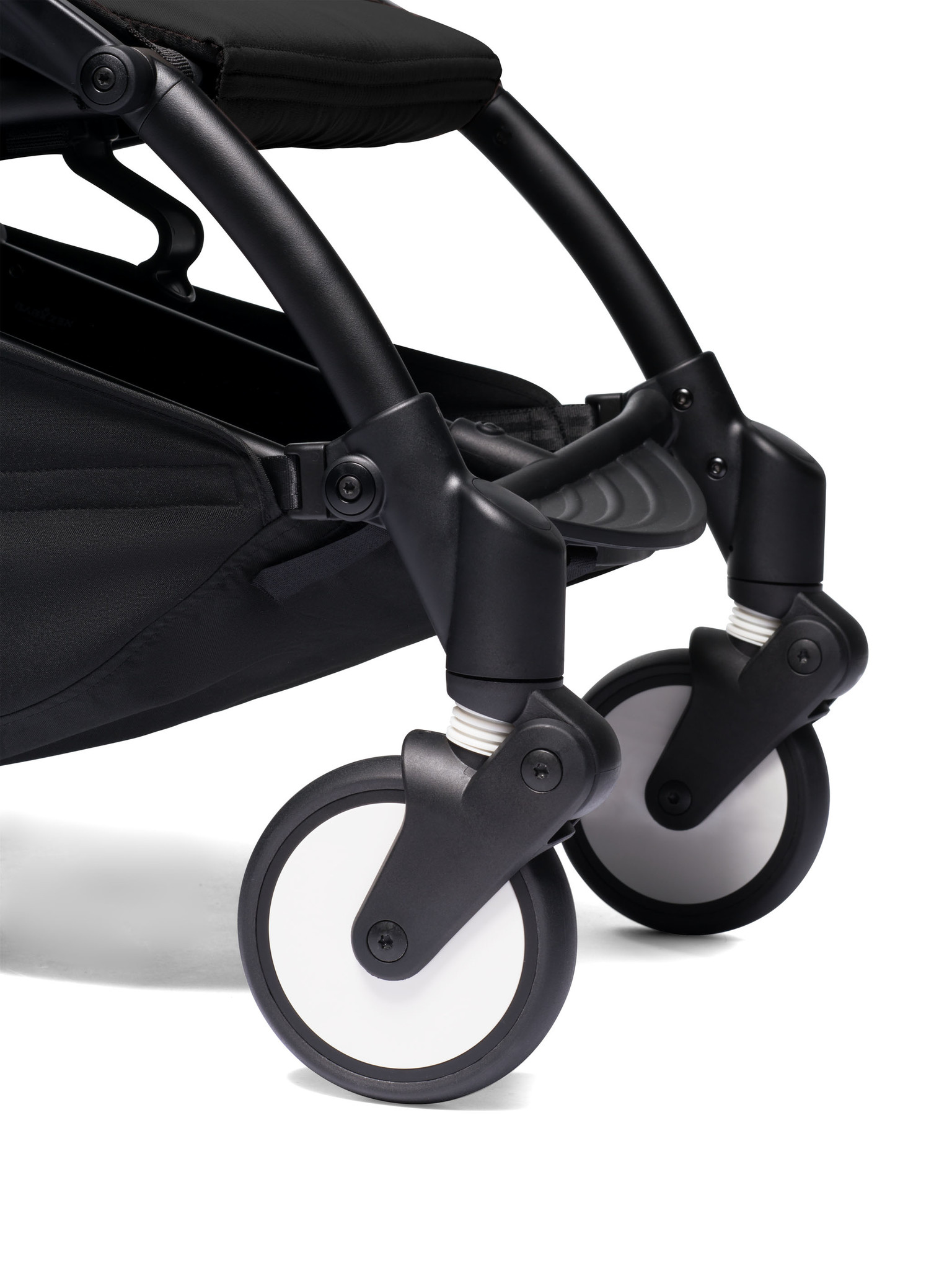 Babyzen Babyzen YOYO² Buggy VOLLSTÄNDIG von Geburt an und inklusive YOYO Bag - schwarz mit schwarzem Rahmen