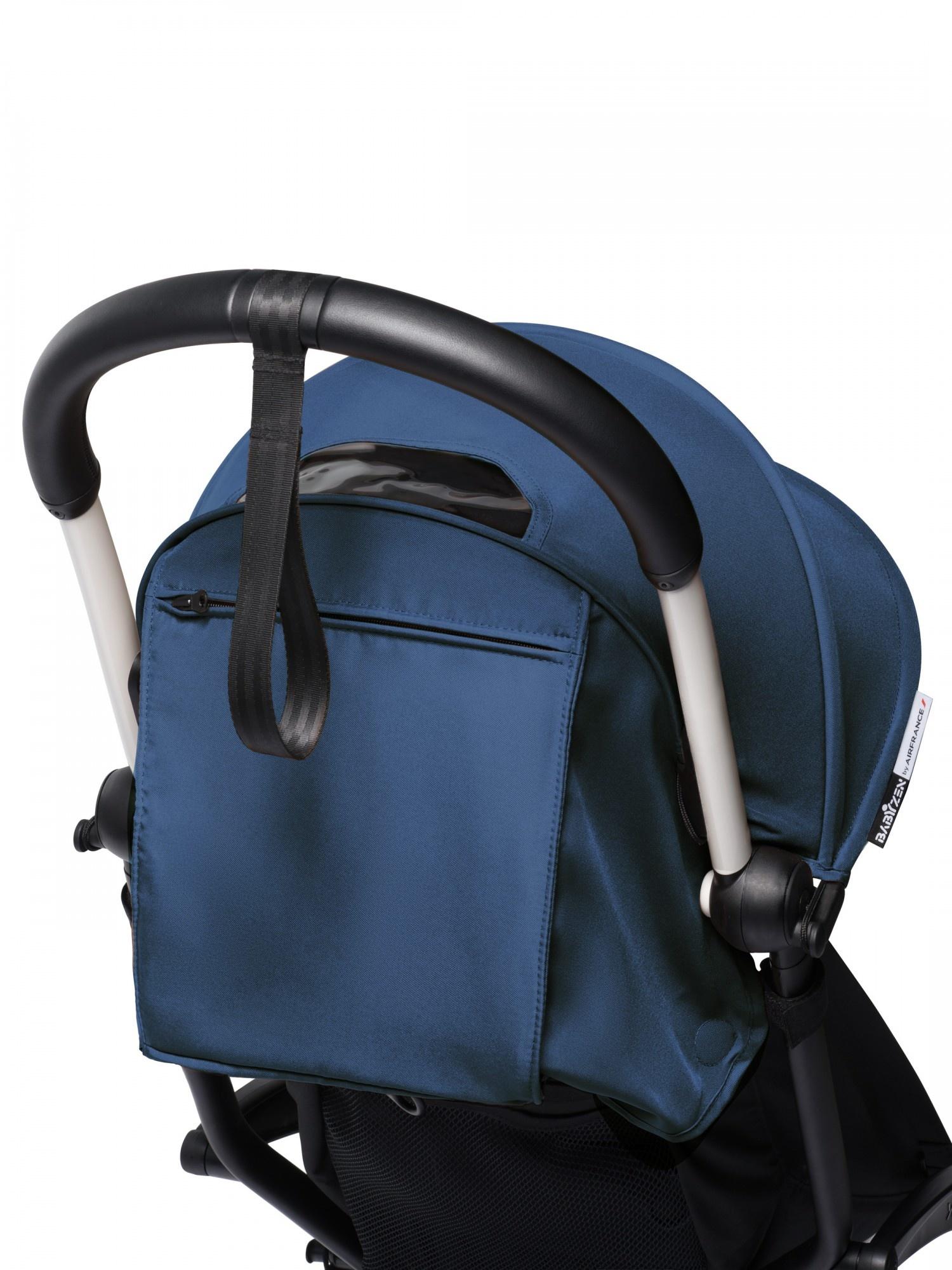 Babyzen Babyzen YOYO² Buggy VOLLSTÄNDIG von Geburt an und inklusive YOYO Bag - AirFrance mit weißem Rahmen