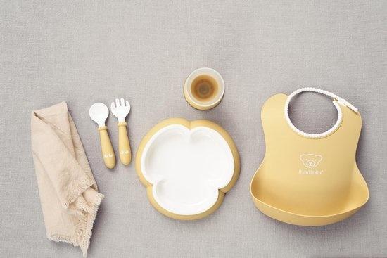 BABYBJÖRN BABYBJÖRN Baby Dinerset Pastelgeel
