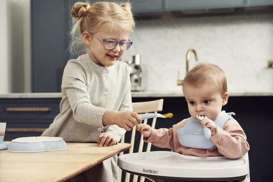 BABYBJÖRN BABYBJÖRN Baby Dinerset Pastelblauw