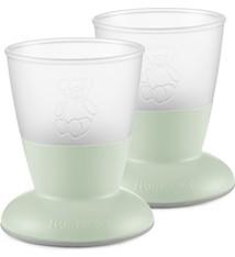 BABYBJÖRN BABYBJÖRN Baby Cup Duo Pack Pastellgrün