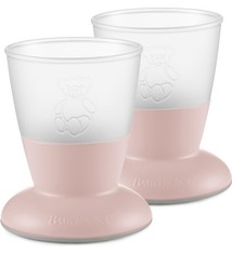 BABYBJÖRN BABYBJÖRN Baby Cup Duo Pack Pastellrosa