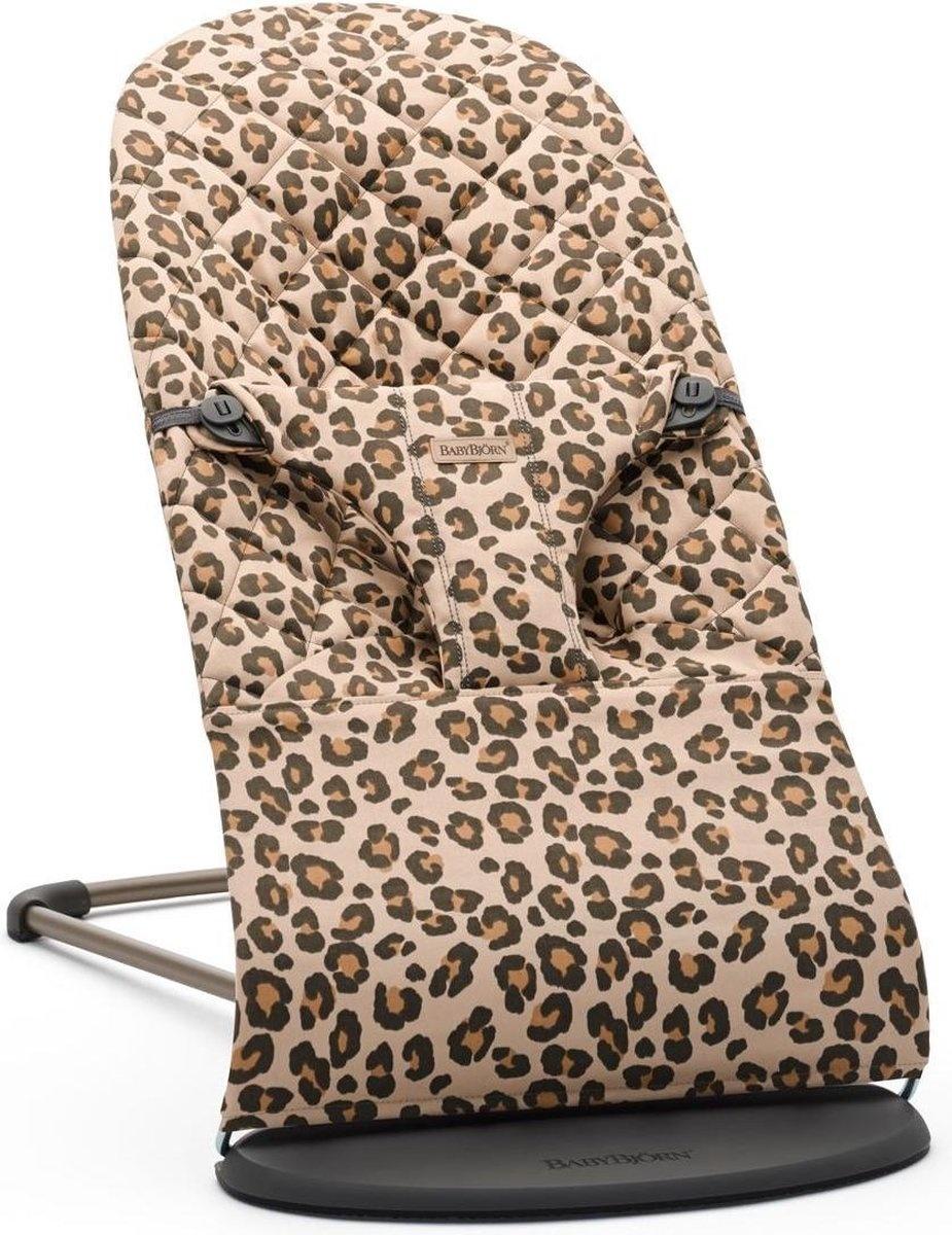 BABYBJÖRN Wipstoeltje Bliss Beige Luipaard Cotton
