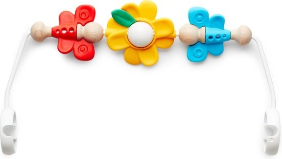 BABYBJÖRN BABYBJÖRN Wipstoeltje Bliss Bundle Parelroze 3D Mesh-Flying Friends