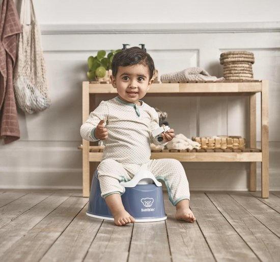 BABYBJÖRN BABYBJÖRN Plaspotje Pienter  Diepblauw/Wit
