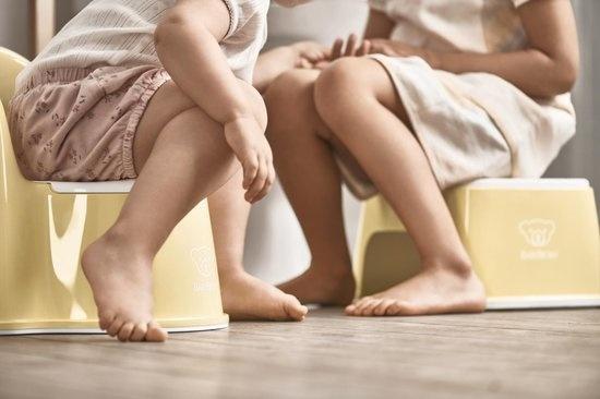 BABYBJÖRN BABYBJÖRN Opstapkrukje Pastelgeel/Wit