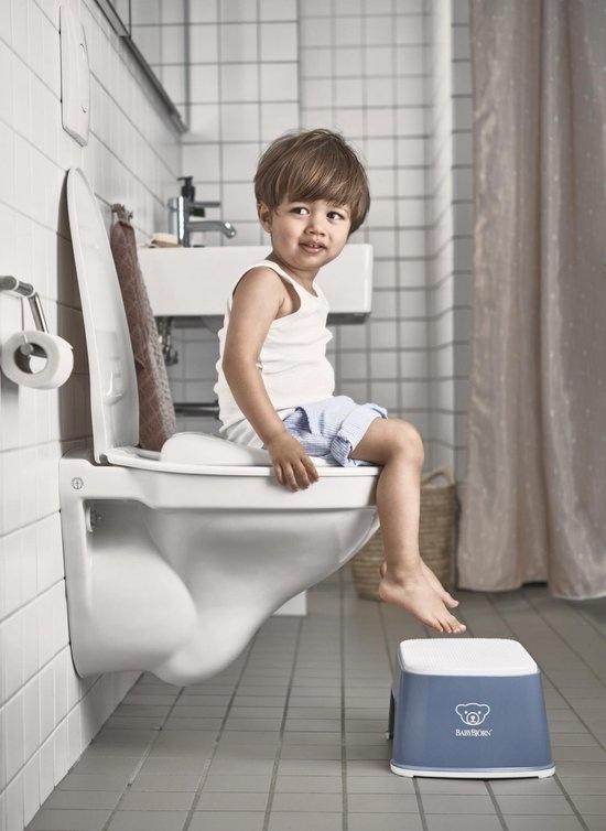 BABYBJÖRN BABYBJÖRN Opstapkrukje Diepblauw/Wit