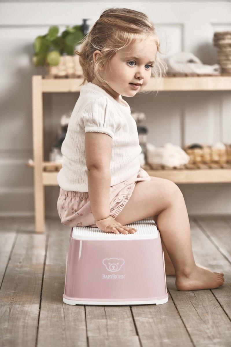 BABYBJÖRN BABYBJÖRN Opstapkrukje Pastelroze/Wit