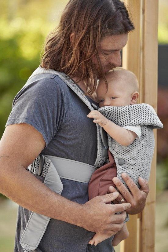 BABYBJÖRN BABYBJÖRN Babytrage Mini graues 3D-Netz