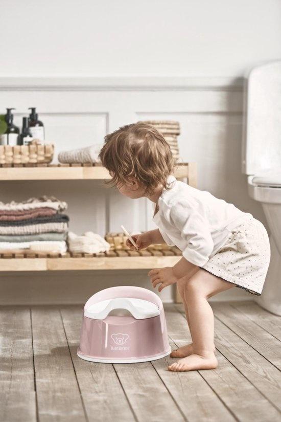 BABYBJÖRN BABYBJÖRN Plaspotje Pienter  Pastelroze/Wit
