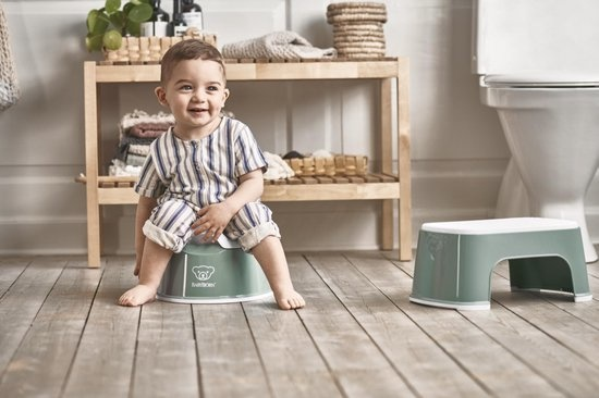 BABYBJÖRN BABYBJÖRN Plaspotje Pienter  Diepgroen/Wit