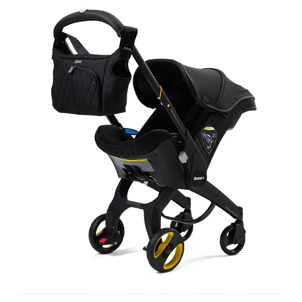 Doona autostoel en buggy: Special Edition Just Black
