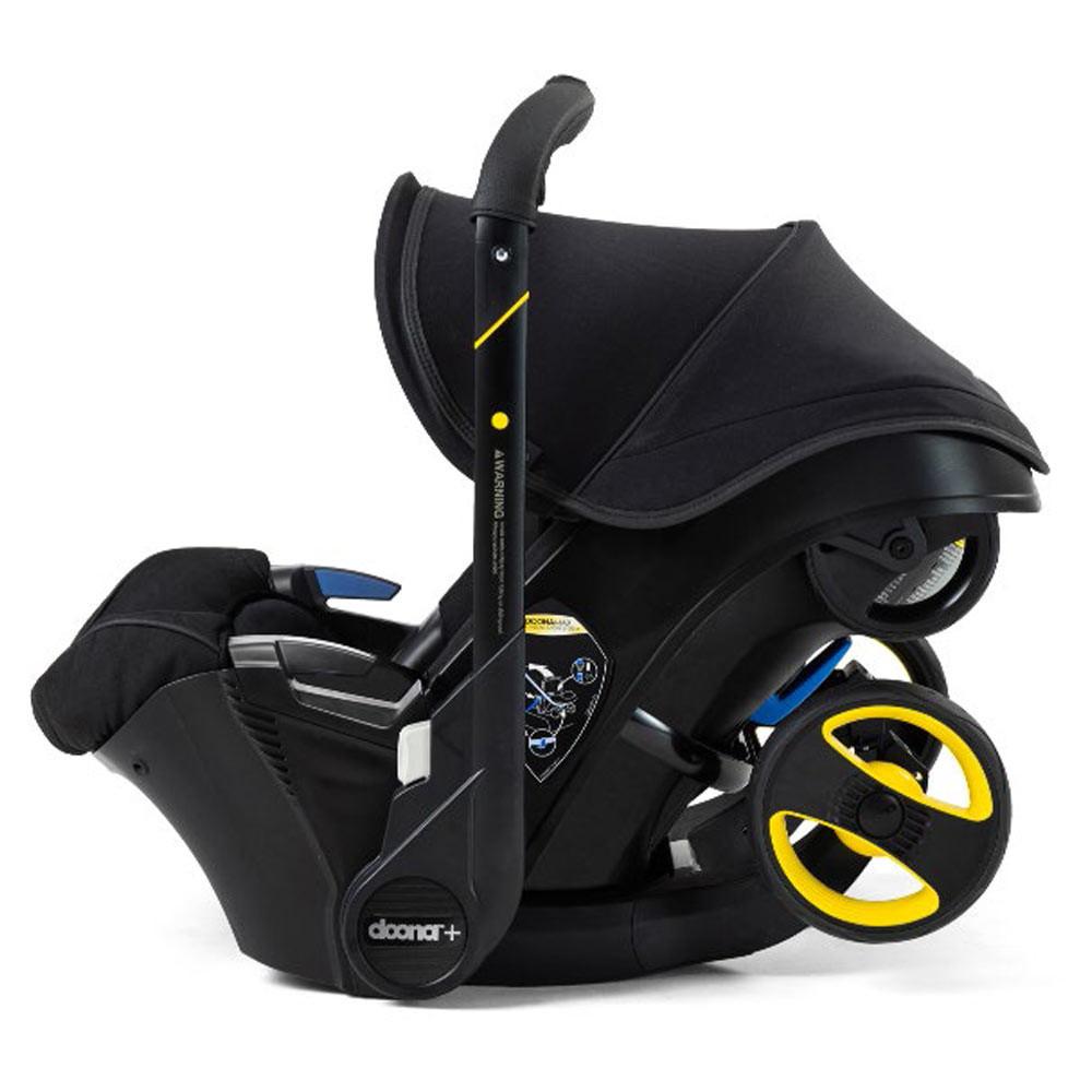 Doona Doona autostoel en buggy: Special Edition Just Black