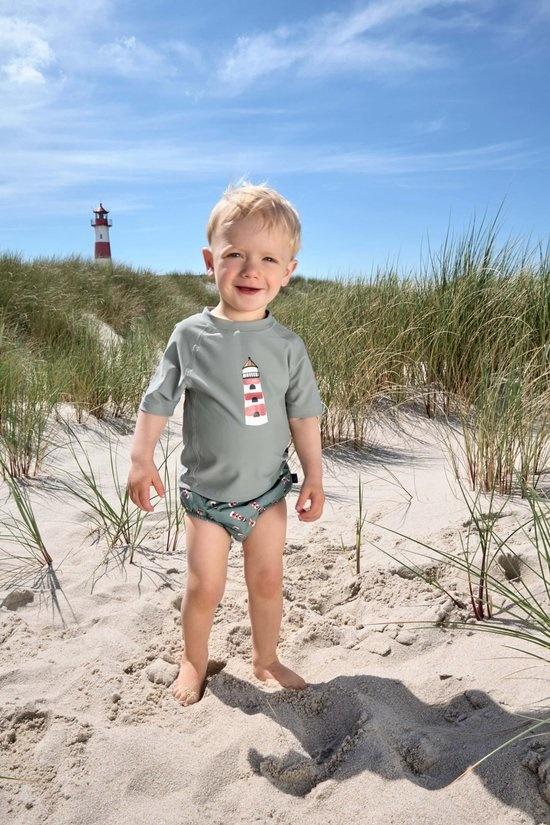 Lässig Lässig Splash & Fun Korte mouw Rashguard / zwemshirt Lighthouse