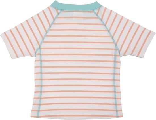 Lässig Lassig Short Sleeve korte mouw Rashguard girls Sailor peach