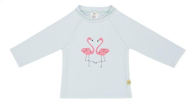 Lässig Lässig Splash & Fun lange mouw Rashguard zwemshirt Flamingo