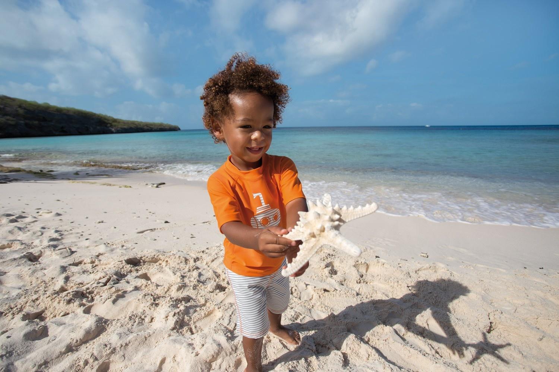 Lässig Lässig Splash & Fun Langarm Rashguard Swim Shirt Flamingo