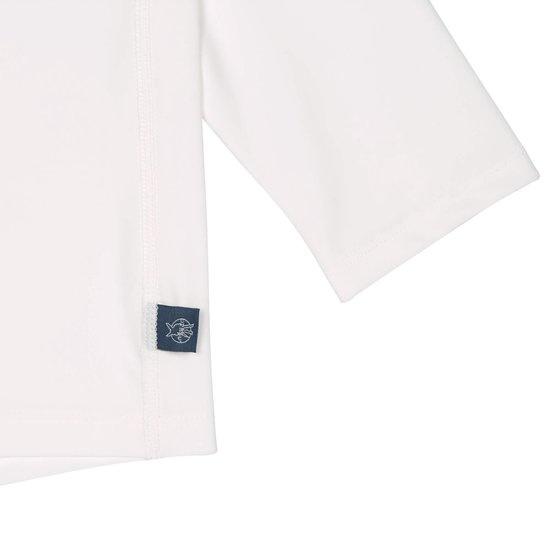 Lässig Lässig Splash & Fun Lange mouw Rashguard / zwemshirt white/blue