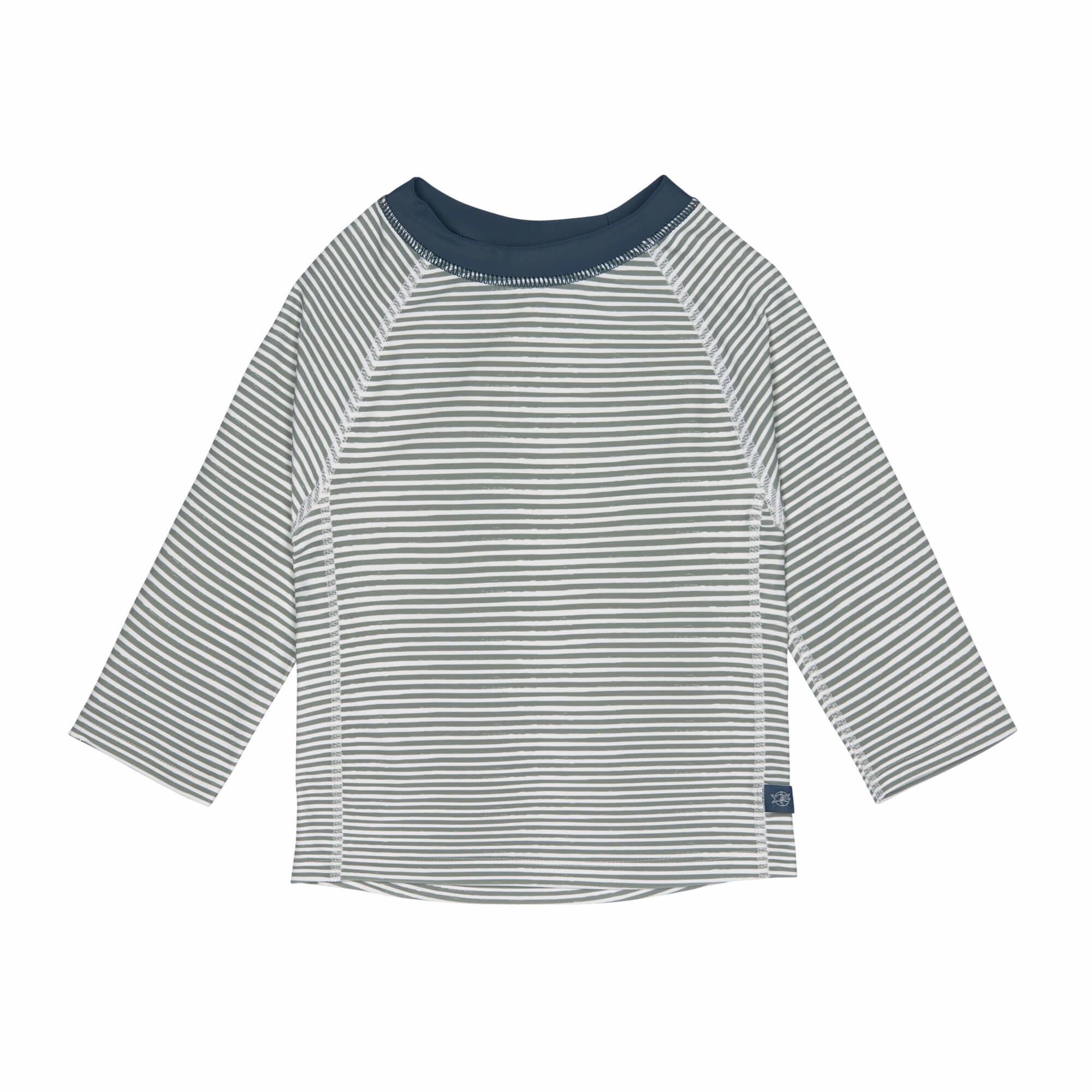 Lässig Splash & Fun Lange mouw Rashguard / zwemshirt Striped blue