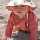 Lässig Lässig Splash & Fun Lange mouw Rashguard / zwemshirt Mrs. Seagull coral