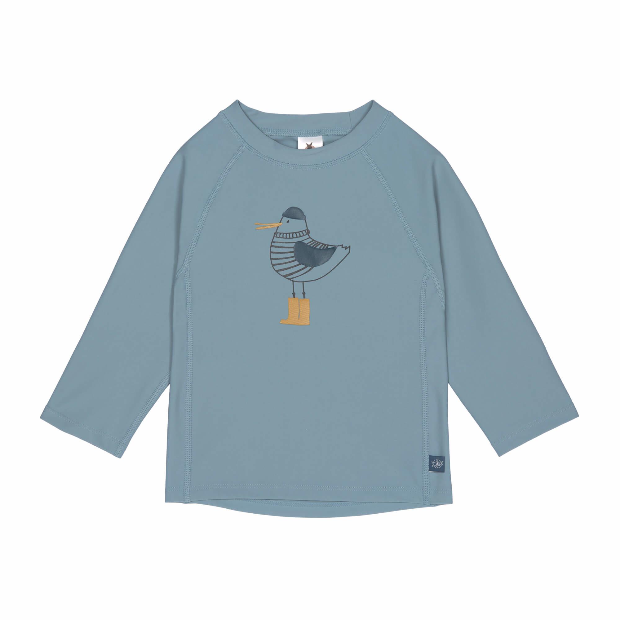 Lässig Splash & Fun Lange mouw Rashguard / zwemshirt Mr. Seagull blue