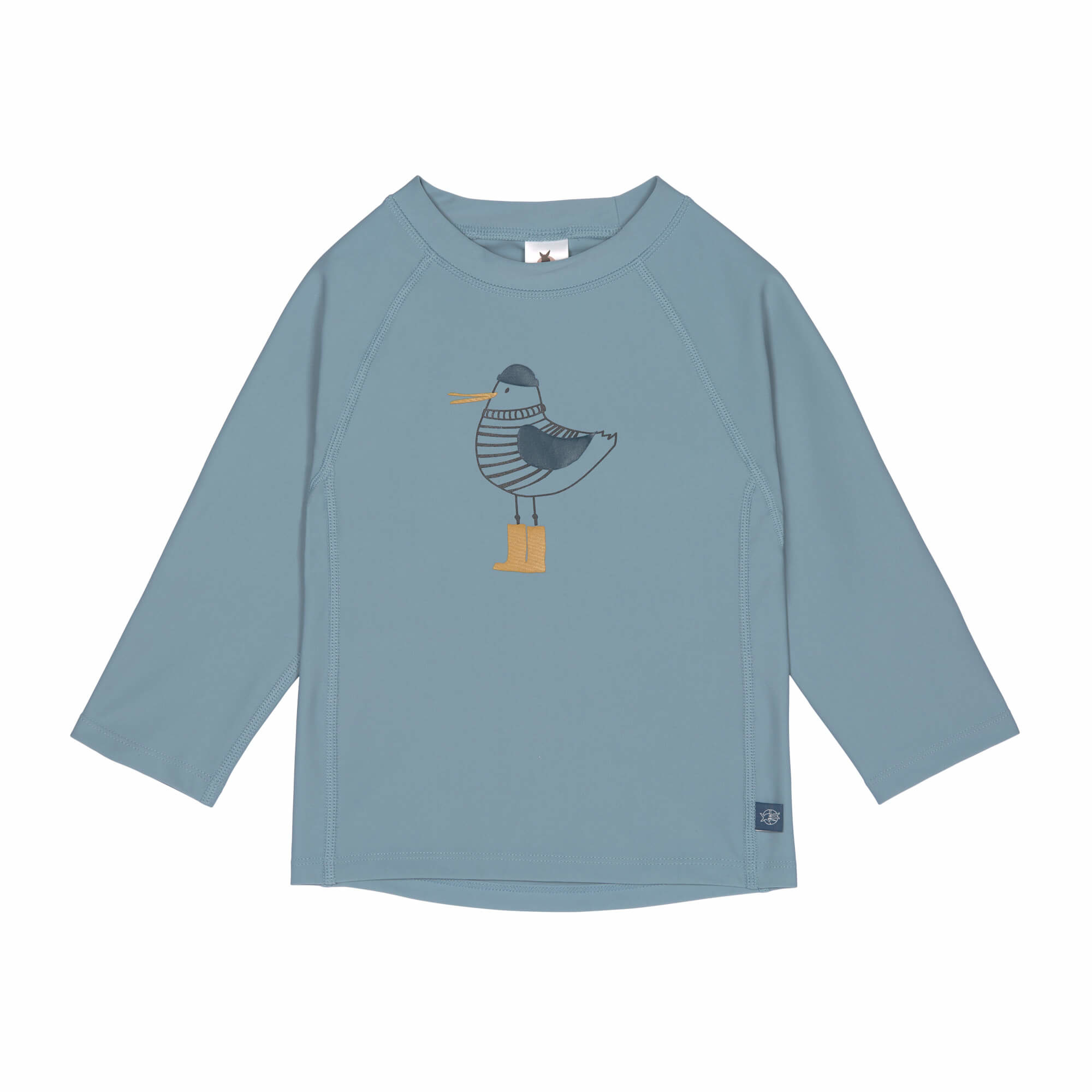 Lässig Lässig Splash & Fun Lange mouw Rashguard / zwemshirt Mr. Seagull blue