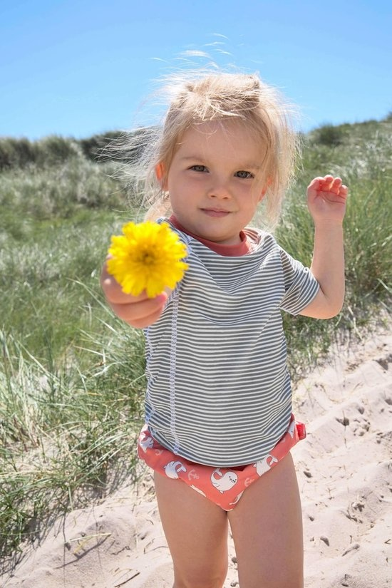 Lässig Lässig Splash & Fun Schwimmwindelhose Mädchen Siegel, 24 Monate, Größe 92