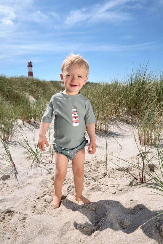 Lässig Lässig Splash & Fun Schwimmwindelhose Jungen Leuchtturm, 24 Monate, Größe 92