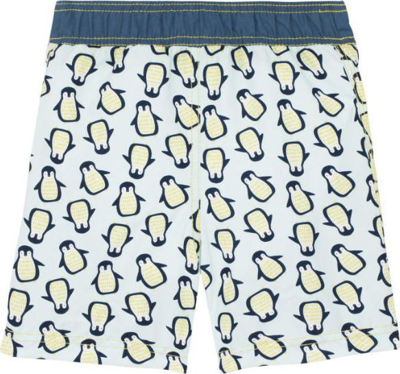 Lässig Splash & Fun Board Shorts / zwemshorts - Penguin mint