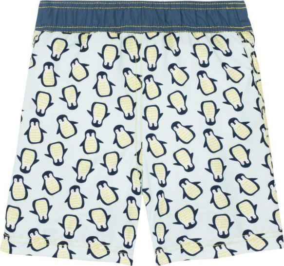 Lässig Lässig Splash & Fun Boardshorts / Badeshorts - Penguin Mint 12 Monate