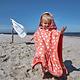 Lässig Lässig Splash & Fun Beach Poncho girls Seal