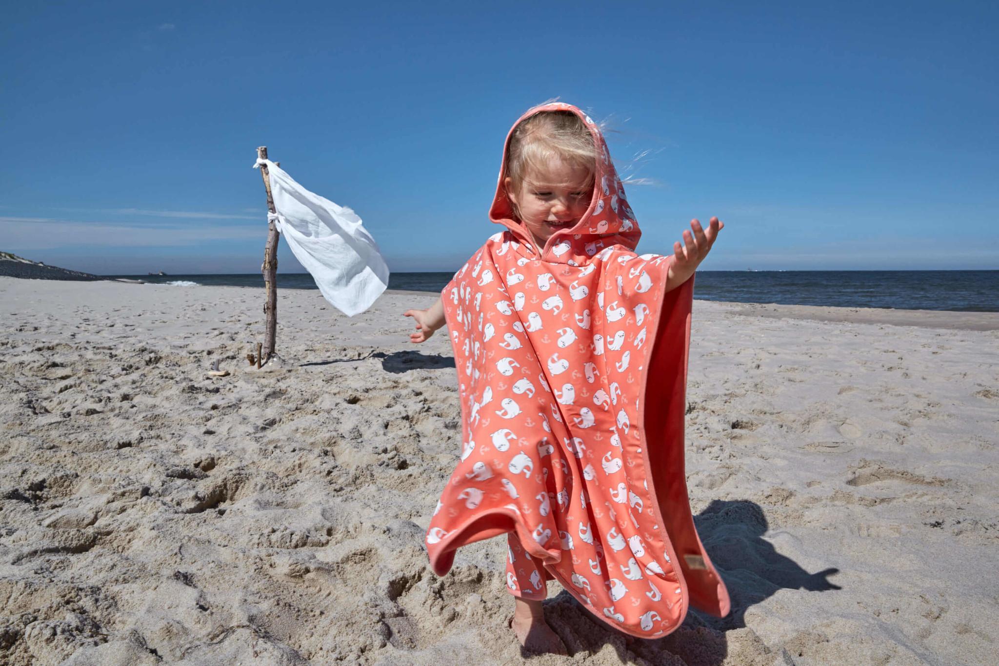 Lässig Lässig Splash & Fun Beach Poncho Mädchen Siegel