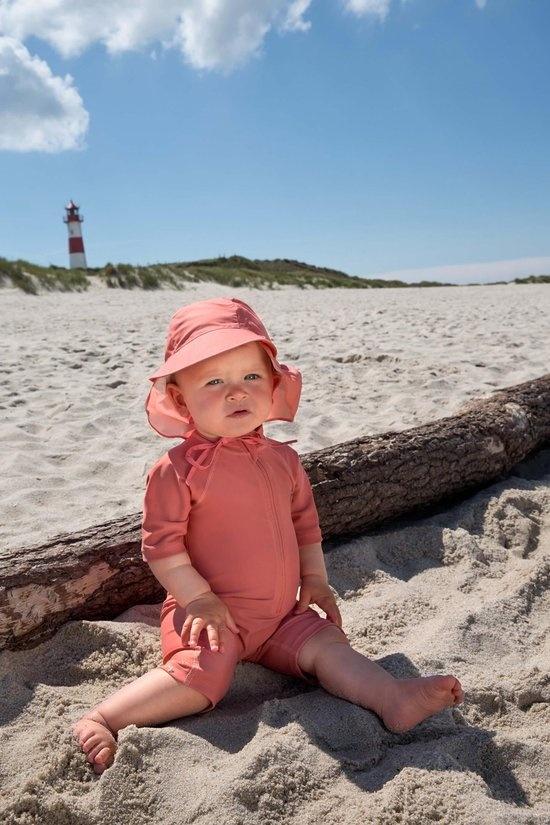 Lässig Lässig Splash & Fun Sonnenschutz Floppy Hut Coral, 18-36 Monate, Größe 50/51