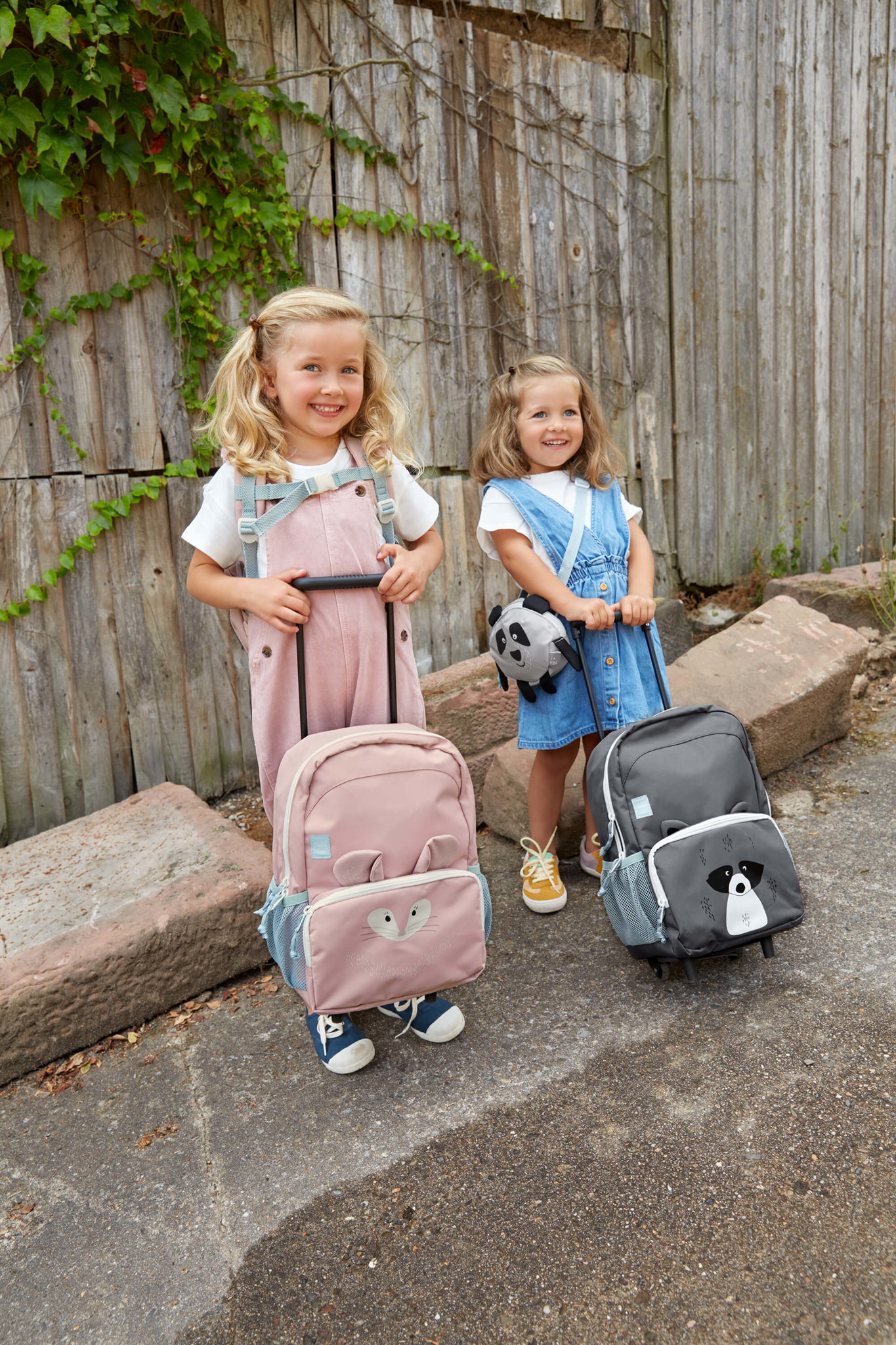 Lässig Lässig Tiny Backpack Trolley Über Freunde Chinchilla