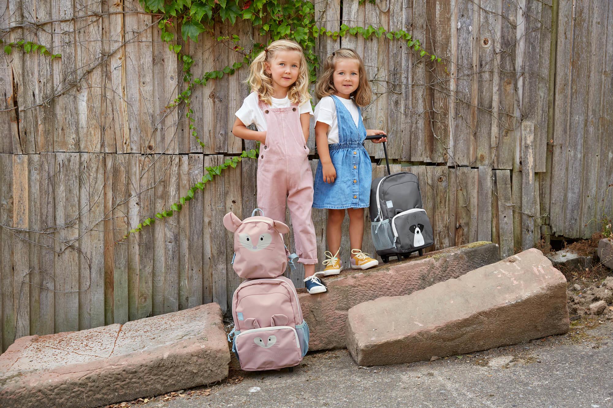 Lässig Lässig Tiny Backpack Trolley About Friends Chinchilla