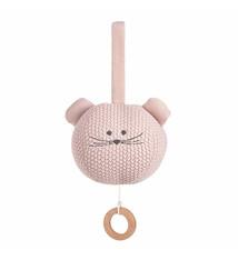 Lässig Lässig gebreide muziek mobiel, 100% organic cotton, Little Chums Mouse