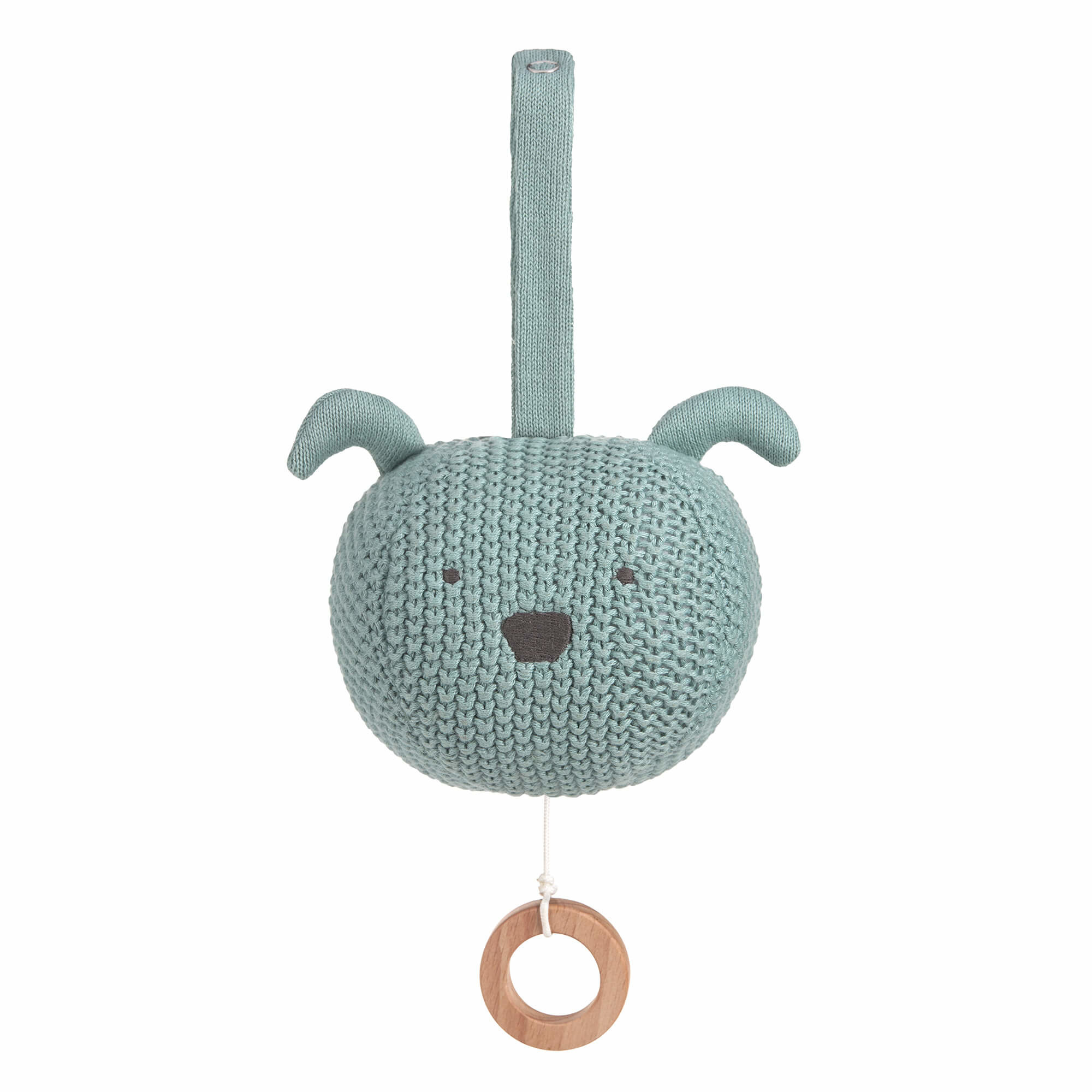 Lässig Lässig gebreide muziek mobiel, 100% organic cotton, Little Chums Dog