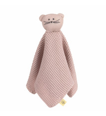 Lässig Lässig gebreide baby knuffel 100% organic cotton, Little Chums Mouse