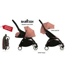 Babyzen Babyzen YOYO² buggy compleet 0+ 2018 en 6+ Ginger , frame zwart