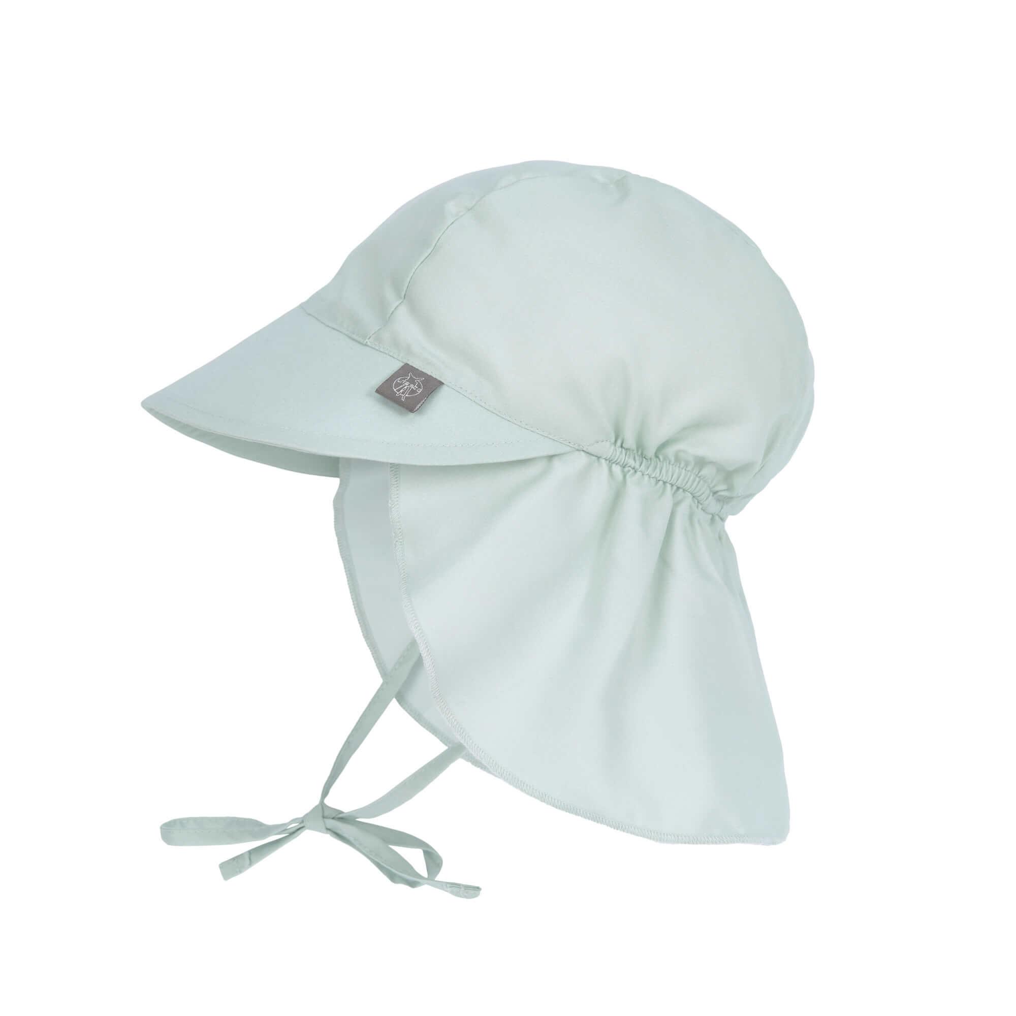 Lässig Splash & Fun Sun Protection Zonnehoed Flaphoed met UV bescherming - Mint 19-36 maanden, Maat: