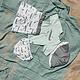 Lässig Lässig Splash & Fun Sun Protection Zonnehoed Vissershoed met UV bescherming - Crocodile white 19-36 maanden, Maat: 50/51