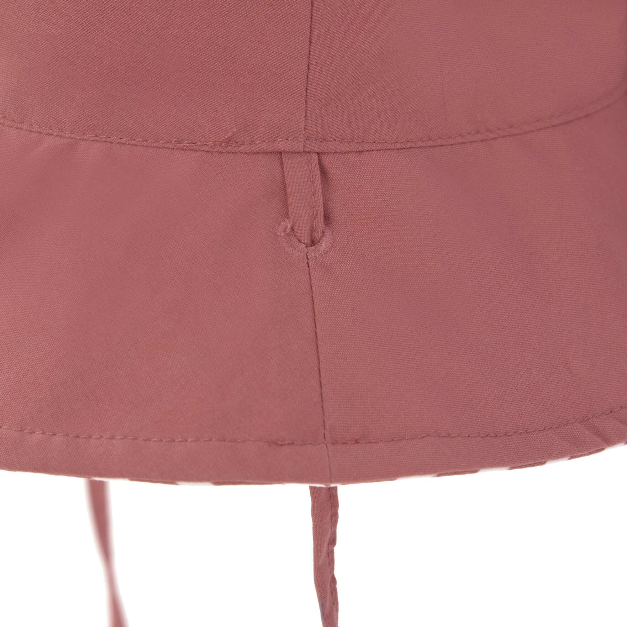 Lässig Lässig Splash & Fun Sun Protection Zonnehoed Vissershoed met UV bescherming - Stripes red 19-36 maanden, Maat: 50/51
