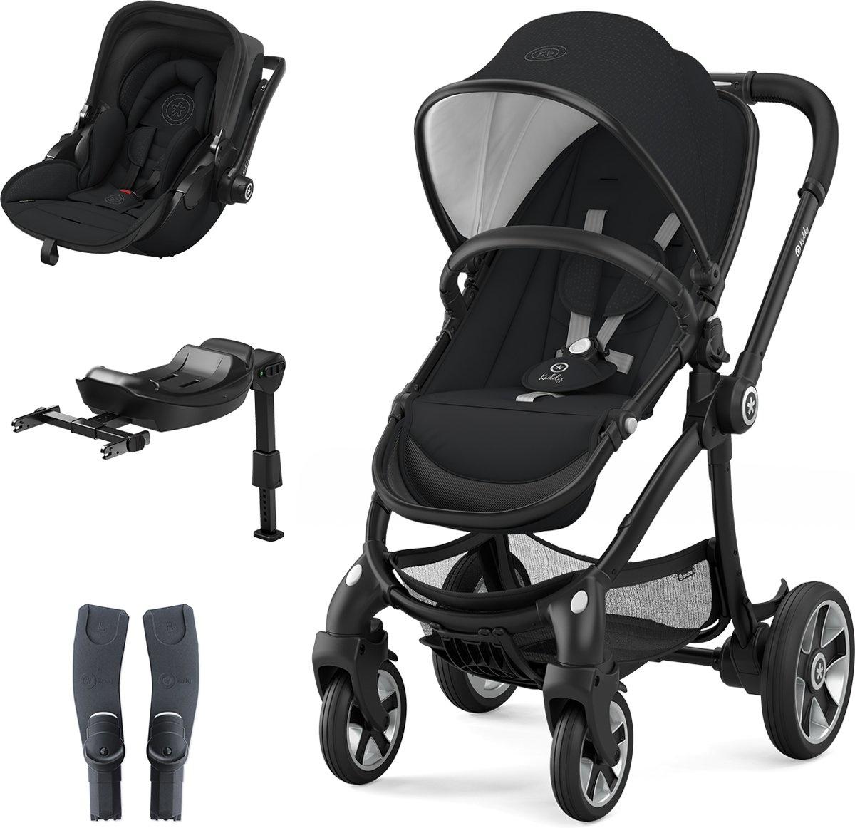Kiddy Evostar 1 incl. Kinderwagen (frame en zitje) + Evoluna i-Size (stoeltje) + Isofix Base 2 + ada