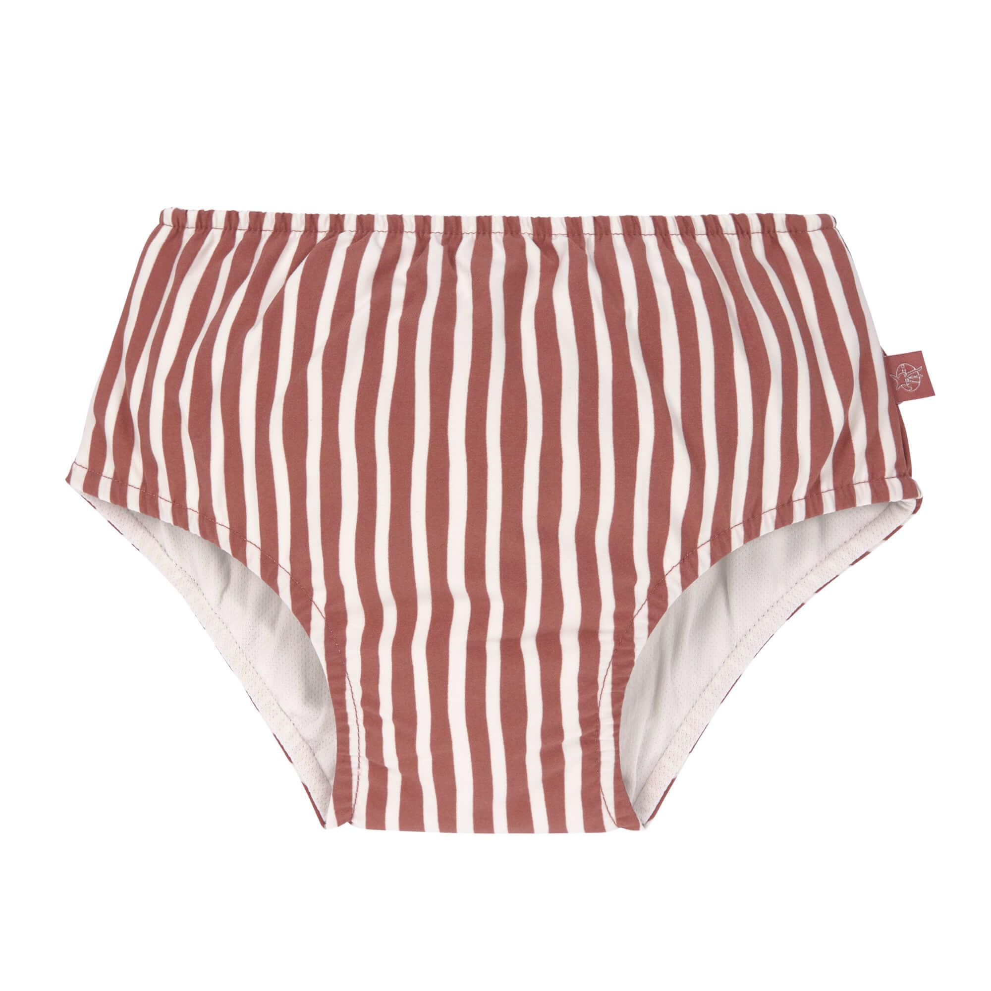 Lässig Splash & Fun Zwembroekje met luier - Stripes red
