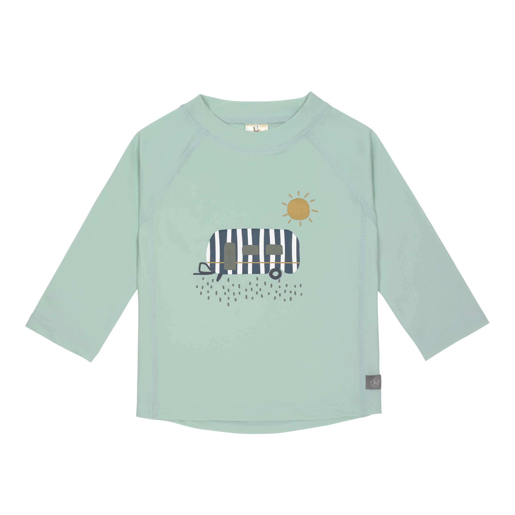 Lässig Splash & Fun Lange mouw Rashguard UV zwemshirt - Caravan mint