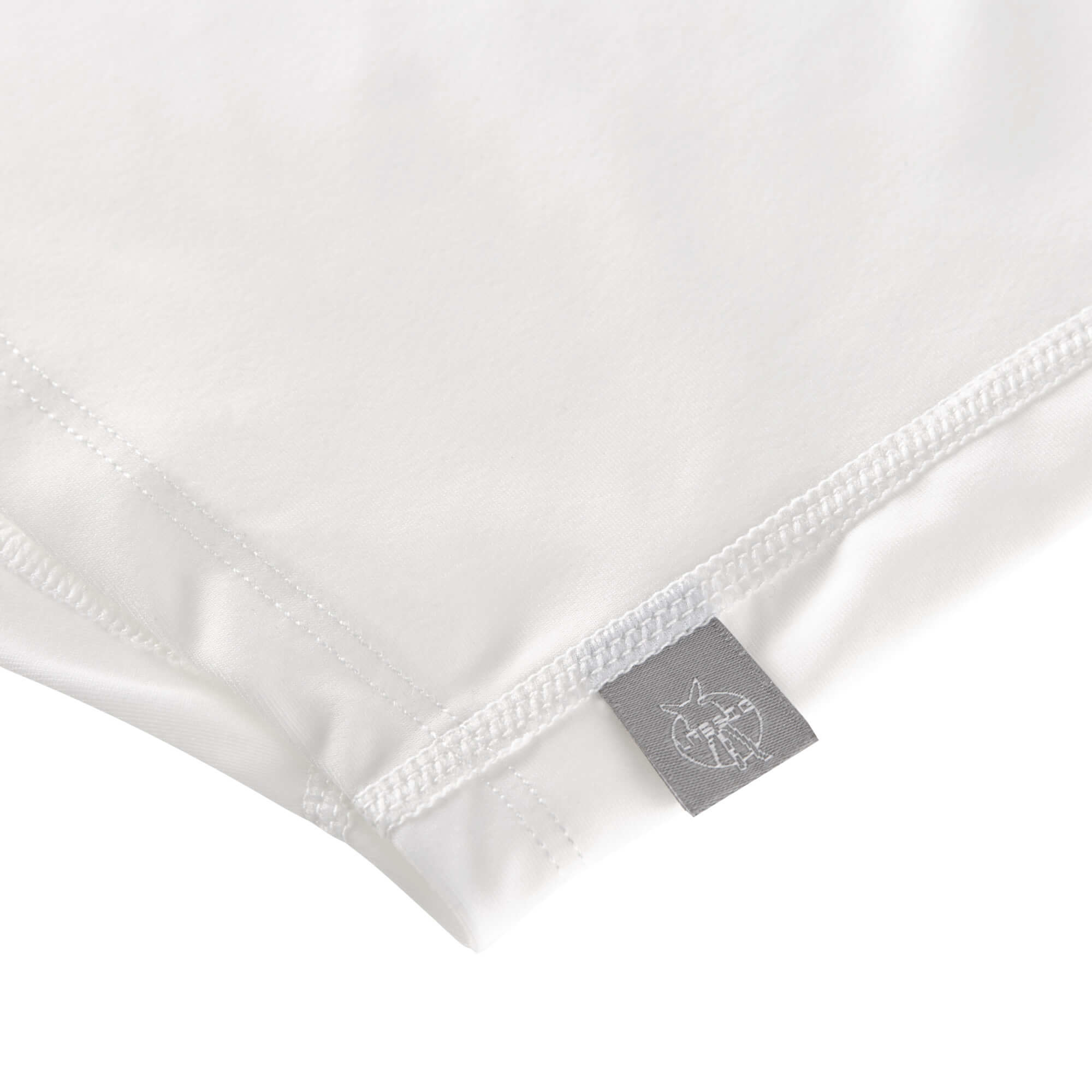 Lässig Lässig Splash & Fun Korte mouw Rashguard UV zwemshirt – Caravan white