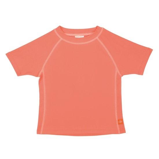 Lässig Splash & Fun Korte mouw Rashguard / zwemshirt - peach