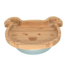 Lässig BAMB Lässig 4Babies & Kids Bord bamboo/hout met zuignap silicone little chums dog